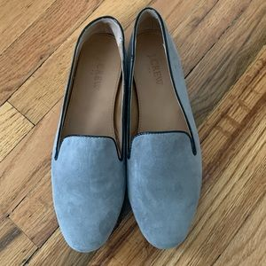 J. Crew Gray Loafers